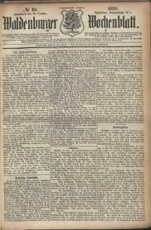 Waldenburger Wochenblatt, Jg. 29, 1883, nr 84