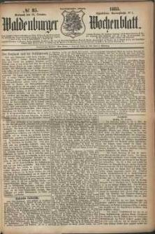 Waldenburger Wochenblatt, Jg. 29, 1883, nr 85