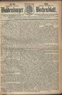 Waldenburger Wochenblatt, Jg. 29, 1883, nr 89