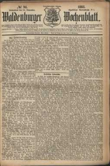 Waldenburger Wochenblatt, Jg. 29, 1883, nr 94