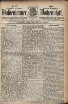 Waldenburger Wochenblatt, Jg. 29, 1883, nr 97