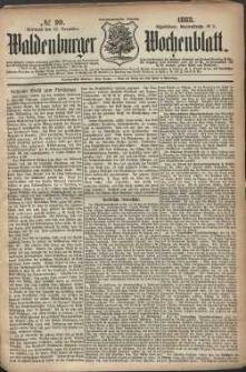 Waldenburger Wochenblatt, Jg. 29, 1883, nr 99