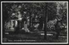 Ohlau – Schloßplatz mit Schilldenkmal [Dokument ikonograficzny]
