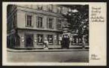 Ohlau, Schlesien – Weingrosshandlung Hotel Deutsches Haus Inh. Albert Persicke [Dokument ikonograficzny]