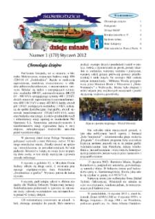 Świebodzice - Dzieje Miasta, 2012, nr 1 (170) [Dokument elektroniczny]