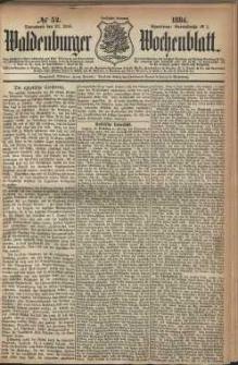 Waldenburger Wochenblatt, Jg. 30, 1884, nr 52