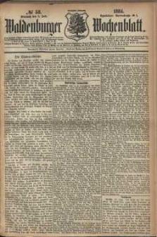 Waldenburger Wochenblatt, Jg. 30, 1884, nr 53