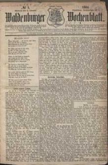 Waldenburger Wochenblatt, Jg. 30, 1884, nr 1