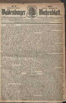 Waldenburger Wochenblatt, Jg. 30, 1884, nr 3