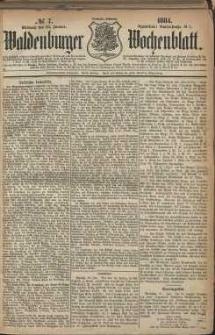 Waldenburger Wochenblatt, Jg. 30, 1884, nr 7