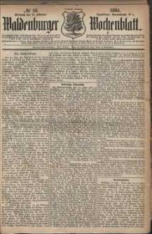 Waldenburger Wochenblatt, Jg. 30, 1884, nr 13
