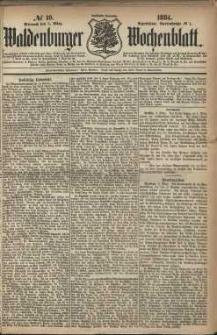 Waldenburger Wochenblatt, Jg. 30, 1884, nr 19