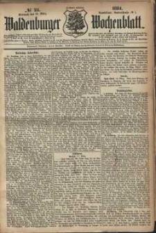 Waldenburger Wochenblatt, Jg. 30, 1884, nr 23