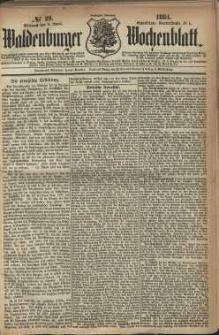 Waldenburger Wochenblatt, Jg. 30, 1884, nr 29