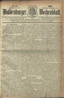 Waldenburger Wochenblatt, Jg. 30, 1884, nr 37