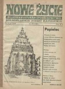 Nowe Życie: dolnośląskie pismo katolickie: religia, kultura, społeczeństwo, 1988, nr 4 (119)