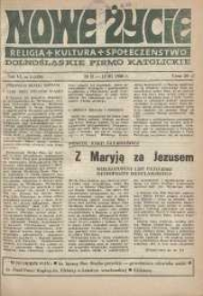 Nowe Życie: dolnośląskie pismo katolickie: religia, kultura, społeczeństwo, 1988, nr 5 (120)
