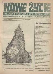 Nowe Życie: dolnośląskie pismo katolickie: religia, kultura, społeczeństwo, 1988, nr 6 (121)