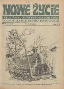 Nowe Życie: dolnośląskie pismo katolickie: religia, kultura, społeczeństwo, 1988, nr 8 (123)