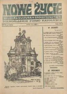 Nowe Życie: dolnośląskie pismo katolickie: religia, kultura, społeczeństwo, 1988, nr 9 (124)