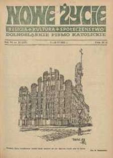 Nowe Życie: dolnośląskie pismo katolickie: religia, kultura, społeczeństwo, 1988, nr 12 (127)
