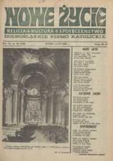 Nowe Życie: dolnośląskie pismo katolickie: religia, kultura, społeczeństwo, 1988, nr 18 (133)