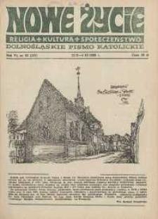 Nowe Życie: dolnośląskie pismo katolickie: religia, kultura, społeczeństwo, 1988, nr 22 (137)