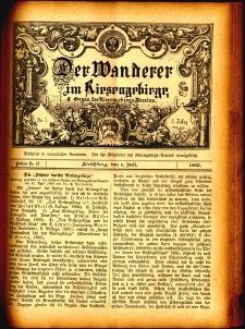 Der Wanderer im Riesengebirge, 1885, nr 42