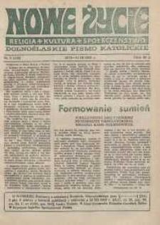 Nowe Życie: dolnośląskie pismo katolickie: religia, kultura, społeczeństwo, 1989, nr 5 (146)