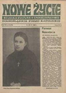 Nowe Życie: dolnośląskie pismo katolickie: religia, kultura, społeczeństwo, 1989, nr 8 (149)