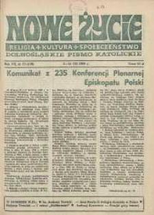 Nowe Życie: dolnośląskie pismo katolickie: religia, kultura, społeczeństwo, 1989, nr 15 (156)
