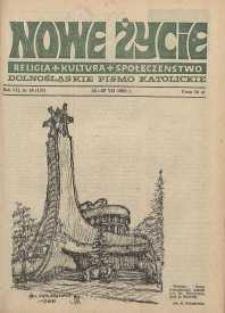 Nowe Życie: dolnośląskie pismo katolickie: religia, kultura, społeczeństwo, 1989, nr 16 (157)