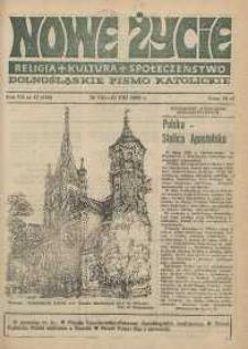 Nowe Życie: dolnośląskie pismo katolickie: religia, kultura, społeczeństwo, 1989, nr 17 (158)