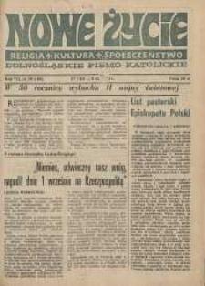 Nowe Życie: dolnośląskie pismo katolickie: religia, kultura, społeczeństwo, 1989, nr 19 (160)