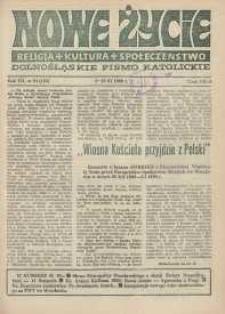 Nowe Życie: dolnośląskie pismo katolickie: religia, kultura, społeczeństwo, 1989, nr 24 (165)