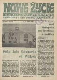 Nowe Życie: dolnośląskie pismo katolickie: religia, kultura, społeczeństwo, 1989, nr 25 (166)