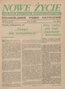 Nowe Życie: dolnośląskie pismo katolickie: religia, kultura, społeczeństwo, 1990, nr 6 (174)