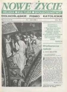 Nowe Życie: dolnośląskie pismo katolickie: religia, kultura, społeczeństwo, 1990, nr 8 (176)