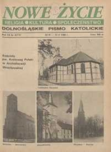 Nowe Życie: dolnośląskie pismo katolickie: religia, kultura, społeczeństwo, 1990, nr 9 (177)