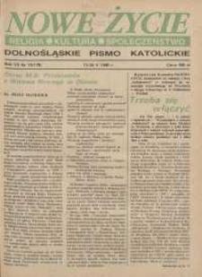 Nowe Życie: dolnośląskie pismo katolickie: religia, kultura, społeczeństwo, 1990, nr 10 (178)