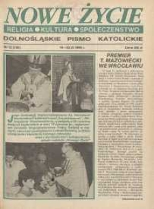 Nowe Życie: dolnośląskie pismo katolickie: religia, kultura, społeczeństwo, 1990, nr 12 (180)