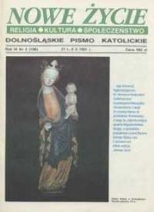 Nowe Życie: dolnośląskie pismo katolickie: religia, kultura, społeczeństwo, 1991, nr 2 (196)