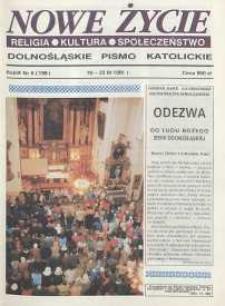Nowe Życie: dolnośląskie pismo katolickie: religia, kultura, społeczeństwo, 1991, nr 5 (199)