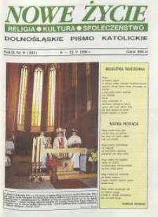 Nowe Życie: dolnośląskie pismo katolickie: religia, kultura, społeczeństwo, 1991, nr 9 (203)