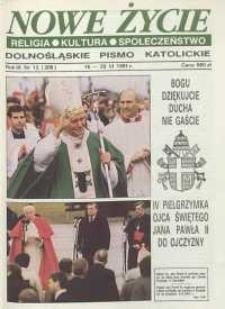 Nowe Życie: dolnośląskie pismo katolickie: religia, kultura, społeczeństwo, 1991, nr 12 (206)