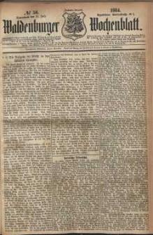 Waldenburger Wochenblatt, Jg. 30, 1884, nr 56