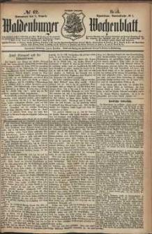 Waldenburger Wochenblatt, Jg. 30, 1884, nr 62