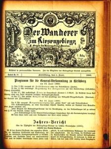 Der Wanderer im Riesengebirge, 1886, nr 50