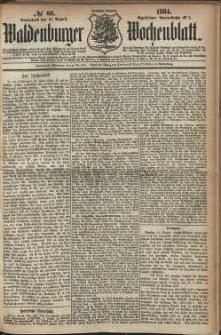 Waldenburger Wochenblatt, Jg. 30, 1884, nr 66