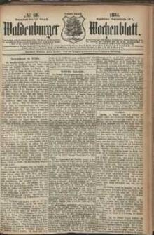 Waldenburger Wochenblatt, Jg. 30, 1884, nr 68